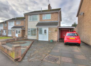Thumbnail 3 bed detached house for sale in Yeomans Dale, East Goscote, Leicester