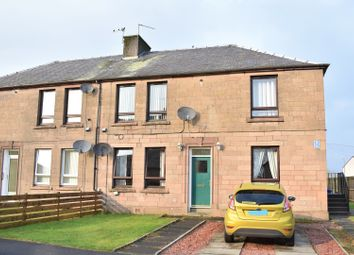 Thumbnail 2 bed flat for sale in Parkhead Crescent, West Calder