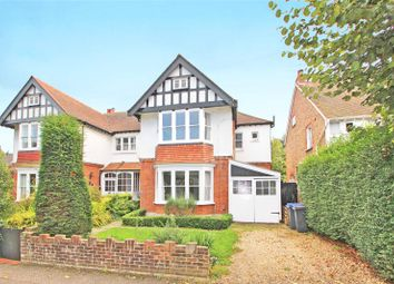 Thumbnail 4 bed semi-detached house for sale in Chaucer Road, Worthing, West Sussex