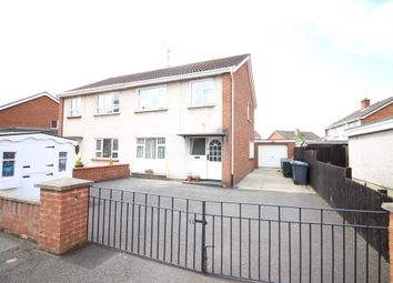 Thumbnail 3 bedroom semi-detached house for sale in Enagh Park, Limavady