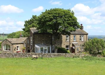 Thumbnail 5 bed detached house for sale in Hebden Bridge Road, Oxenhope, Keighley