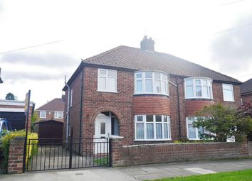 Thumbnail 3 bed semi-detached house for sale in Cranbrook Road, Acomb, York