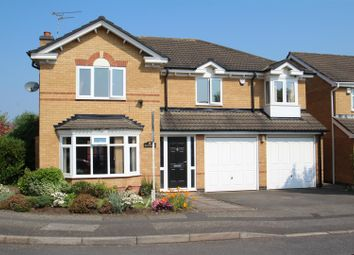 Thumbnail 5 bed detached house for sale in Bulrush Close, Mountsorrel, Loughborough