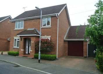 Thumbnail 3 bed detached house for sale in Betjeman Close, Bourne, Lincolnshire