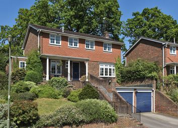 Thumbnail 4 bed detached house for sale in Longhope Drive, Lower Bourne, Farnham, Surrey