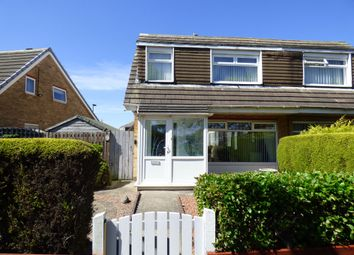 Thumbnail 3 bed semi-detached house for sale in Honiton Way, North Shields