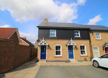 Thumbnail 2 bedroom end terrace house for sale in Woolston Place, Sherfield Park, Hook