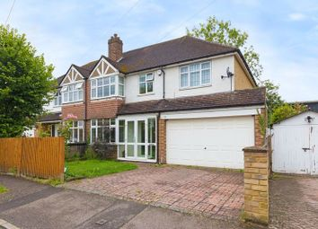 Thumbnail 4 bed semi-detached house for sale in Barnett Close, Leatherhead