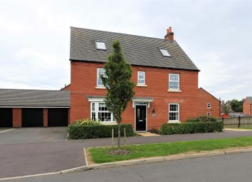 Thumbnail 6 bed detached house for sale in Templar Road, Ashby-De-La-Zouch