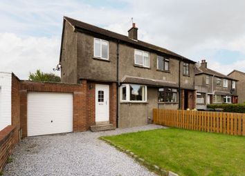 Thumbnail 3 bed semi-detached house for sale in 46 Wester Broom Terrace, Edinburgh