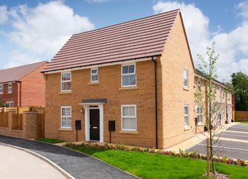 """Thumbnail 3 bed semi-detached house for sale in """"Hadley"""" at Tranby Park, Jenny Brough Lane, Hessle"""