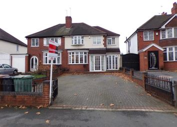 Thumbnail 6 bedroom semi-detached house for sale in Walstead Road, Delves, Walsall, .