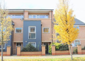 Thumbnail 3 bed town house for sale in Timken Way South, Duston, Northampton
