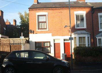 Thumbnail 2 bed end terrace house to rent in Shaftesbury Road, West End, Leicester