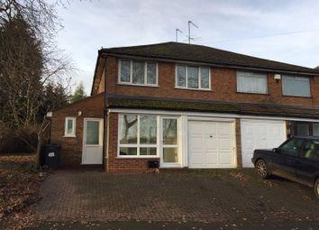 3 bed semi-detached house for sale in Copse Close, Northfield, Birmingham B31