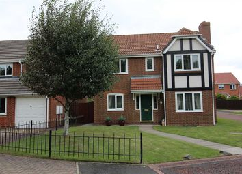 Thumbnail 4 bed detached house for sale in Ellerton Way, Hartford Green, Cramlington