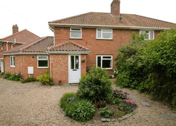 Thumbnail 5 bed semi-detached house for sale in Ethel Gooch Road, Wymondham