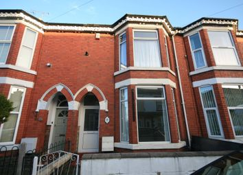 Thumbnail 4 bed terraced house to rent in Walthall Street, Crewe