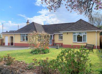 Mayfair, Tiverton EX16. 3 bed detached bungalow for sale