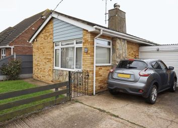 Thumbnail 1 bed bungalow for sale in Gafzelle Drive, Canvey Island