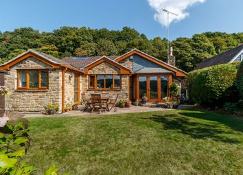 Thumbnail 4 bed detached bungalow for sale in North Wood Park, Kirkburton, Huddersfield