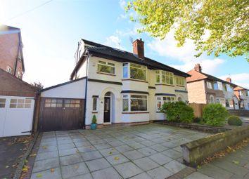 Thumbnail 4 bed semi-detached house for sale in Langdale Road, Bebington