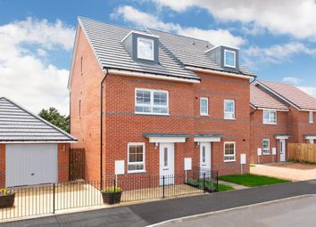 """Thumbnail 4 bedroom end terrace house for sale in """"Kingsville"""" at Morgan Drive, Whitworth, Spennymoor"""