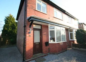 Thumbnail 3 bed semi-detached house to rent in Mayfield Road, Grappenhall, Warrington