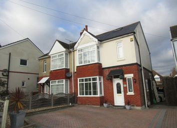 Thumbnail 3 bedroom semi-detached house for sale in Park Avenue, Purbrook, Waterlooville