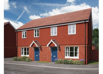 Thumbnail 2 bed semi-detached house for sale in The Paddocks, Twenty One, Picket Twenty, Andover, Hampshire
