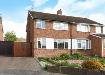 Thumbnail 3 bed semi-detached house for sale in Martin Close, Bedford