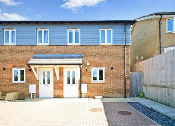Thumbnail 3 bed end terrace house for sale in Walter Tull Way, Folkestone, Kent