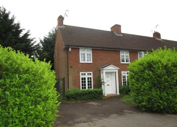 Thumbnail 3 bedroom end terrace house for sale in Salisbury Road, Welwyn Garden City