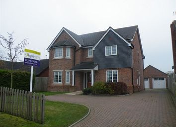 Thumbnail 5 bed detached house to rent in Woore Road, Audlem, Crewe