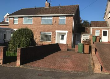 Thumbnail 3 bed semi-detached house for sale in Bryntirion, Penyrheol, Caerphilly