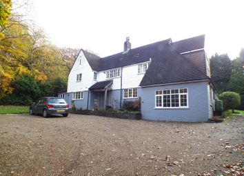 Thumbnail 5 bed detached house to rent in Goodley Stock Road, Westerham, Kent