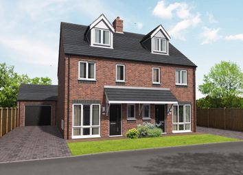 Thumbnail 3 bedroom semi-detached house for sale in Plot 20 Blithbury, The Meadows, Hill Ridware, Rugeley