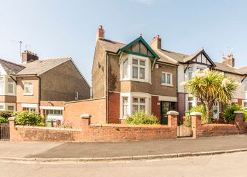 Thumbnail 3 bed end terrace house for sale in Fairwater Grove East, Llandaff, Cardiff