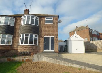Thumbnail 3 bed semi-detached house to rent in Grange Drive, Hellaby, Rotherham