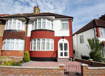 Thumbnail 3 bed semi-detached house for sale in Bengarth Drive, Harrow Weald