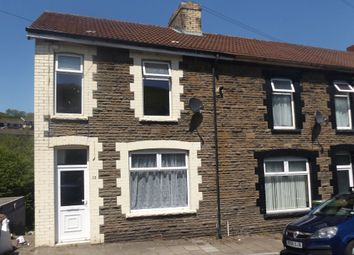 Thumbnail 3 bed end terrace house for sale in Hendre Road, Abertridwr, Caerphilly