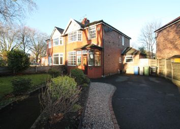 Thumbnail 3 bed semi-detached house for sale in Canterbury Road, Urmston, Manchester