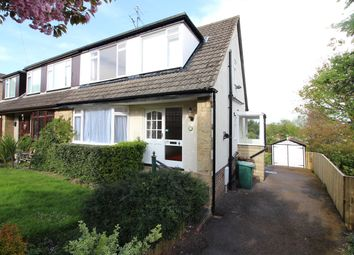 Thumbnail 3 bed semi-detached house for sale in Rose Bank, Burley In Wharfedale, Ilkley