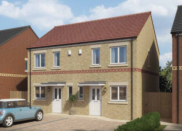 Thumbnail 2 bed semi-detached house for sale in The Mildert. Bedford Sidings, South Church Road, Bishop Auckland, County Durham