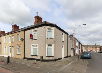 Thumbnail 2 bed end terrace house for sale in Virgil Street, Grangetown, Cardiff