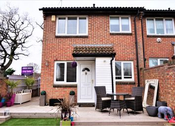 Thumbnail 1 bedroom end terrace house for sale in Stephens Close, Romford