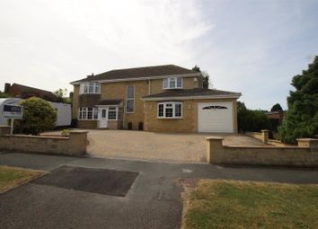 Thumbnail 4 bedroom detached house for sale in Sandringham Road, Swindon