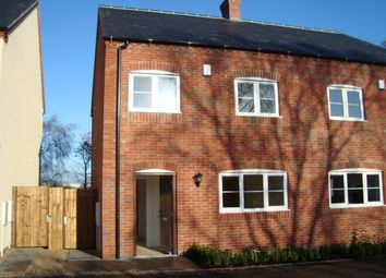 Thumbnail 3 bed semi-detached house to rent in Bellway Close, Coalville