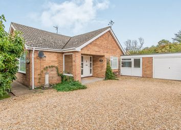 Thumbnail 3 bed detached bungalow for sale in Bell Lane, Moulton, Spalding