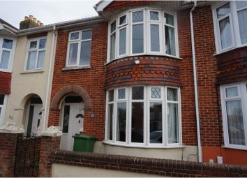 Thumbnail 3 bed terraced house for sale in Westover Road, Portsmouth